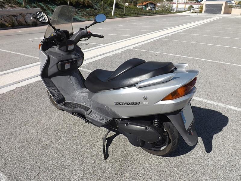 2002 Yamaha R1 >> SUZUKI BURGMAN 150