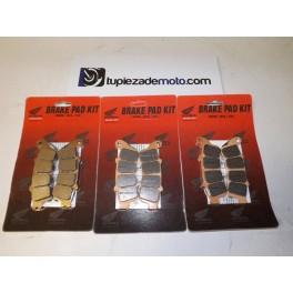 BRAKE SET FRONT AND REAR HONDA GL 1800 GOLDWING 2001 to 2012